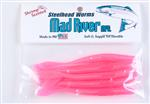 Steelhead Worms: Florescent Pink